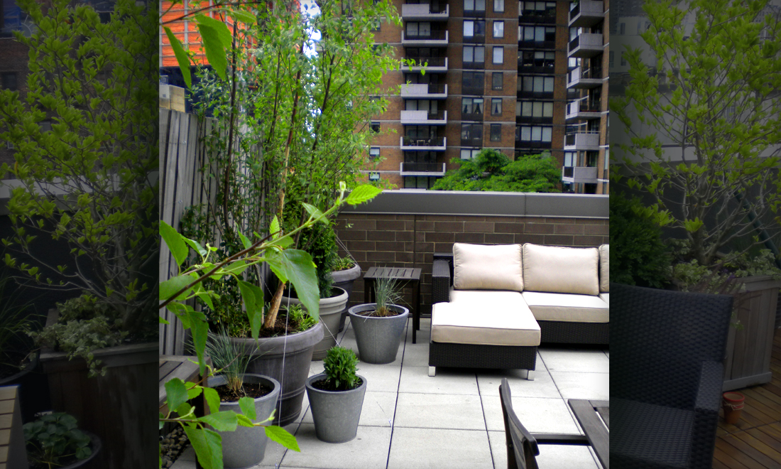 Jeffrey Erb Landscape Design New York City Rooftop Garden Midtown