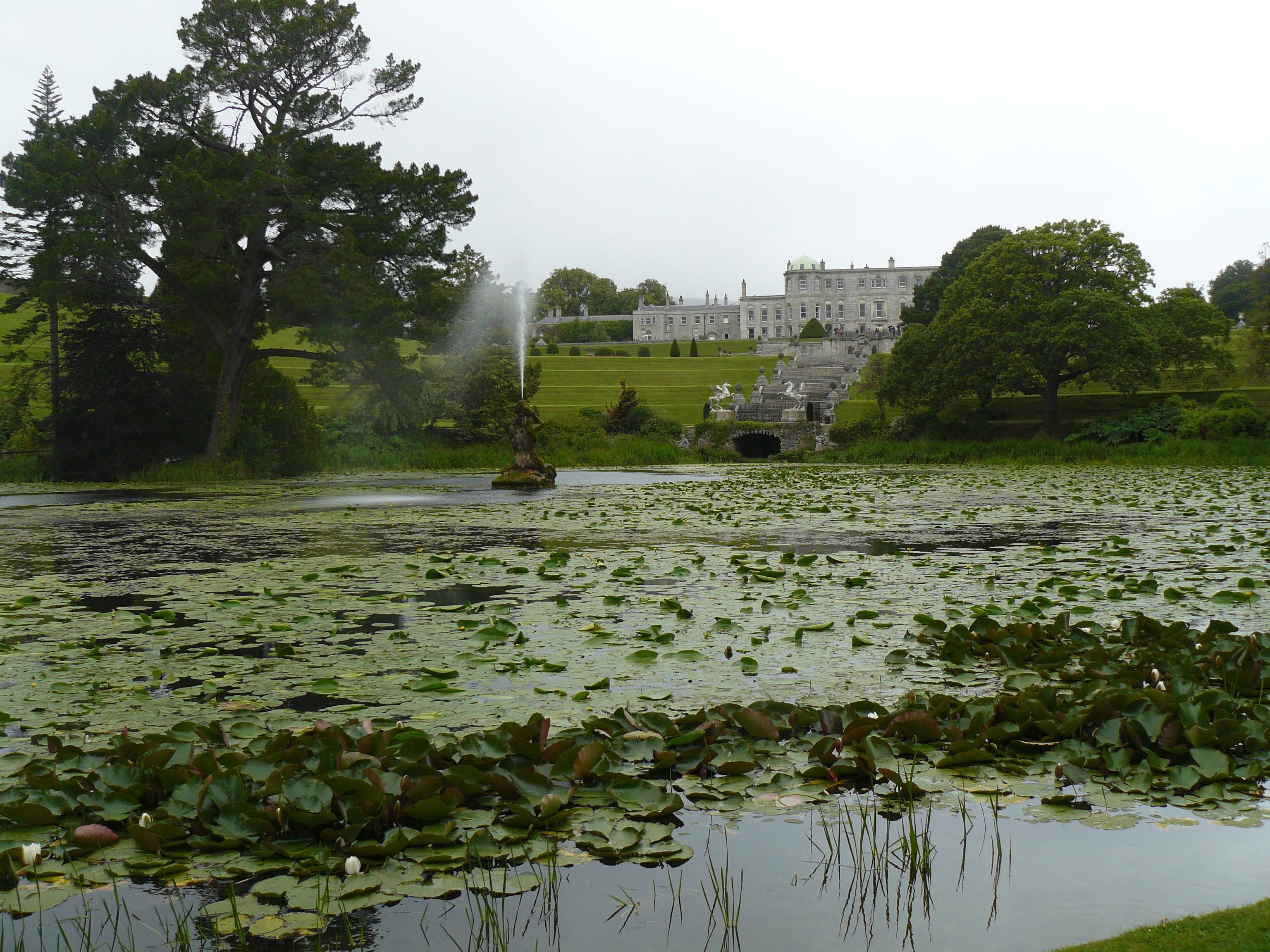 Places To See Powerscourt House And Gardens County Wicklow Ireland Erbology