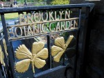 Brooklyn Botanic Sign at the Shakespeare Garden