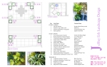 Planting Plan for Elle Decor's 2012 Modern Life Concept House