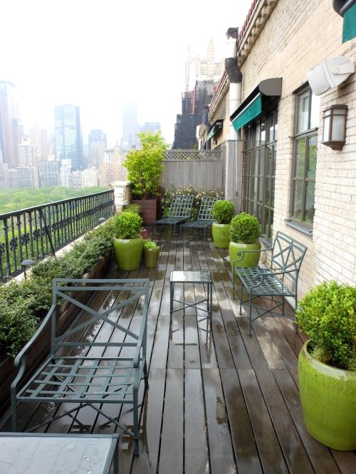 Central Park West Penthouse Garden Jeffrey Erb