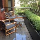 NYC Brownstone Terrace Garden
